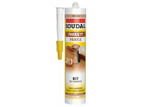 SOUDAL KIT do parkietu 300ml Mahoń