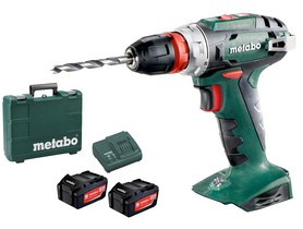 Metabo BS 18 Quick 18V 2x4,0Ah
